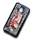 Koolart STICKERBOMB STYLE Design For Classic MIni Cooper S Works Hard Case Cover Fits Samsung Galaxy S5